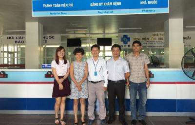 Chuyến thăm và làm việc của Mrs Ái Xuân - Giáo sư về Phẫu thuật Nhi khoa của Trường Đại học Y Illinois, Mỹ và BV Sản - Nhi tỉnh Quảng Ngãi